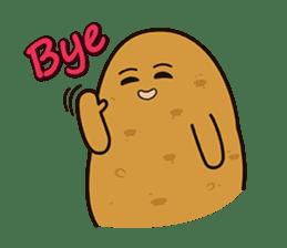 Potato King emoji stickers sticker #12165670