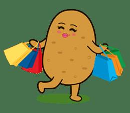 Potato King emoji stickers sticker #12165671