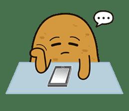 Potato King emoji stickers sticker #12165672