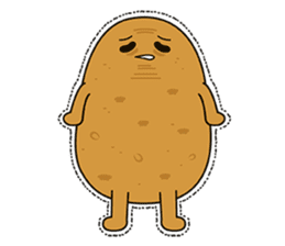 Potato King emoji stickers sticker #12165674