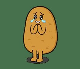 Potato King emoji stickers sticker #12165676
