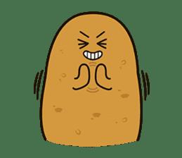Potato King emoji stickers sticker #12165677