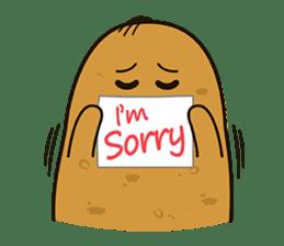 Potato King emoji stickers sticker #12165678