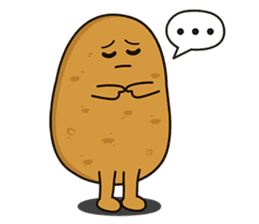 Potato King emoji stickers sticker #12165679