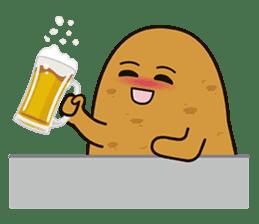 Potato King emoji stickers sticker #12165683