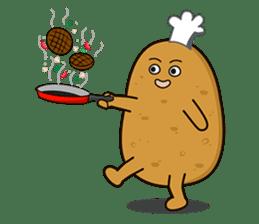 Potato King emoji stickers sticker #12165686