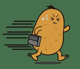 Potato King emoji stickers sticker #12165690