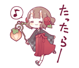 ONINOKO girl sticker sticker #12169585