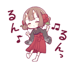 ONINOKO girl sticker sticker #12169592
