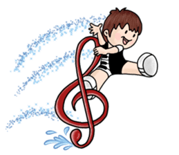 PI & OO - THE LITTLE PIANIST sticker #12176819