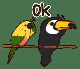 Kakegawa Kachouen birds feelings sticker #12193484