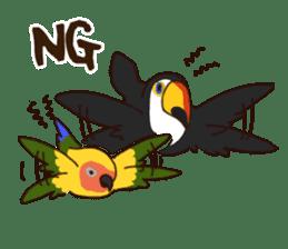 Kakegawa Kachouen birds feelings sticker #12193485