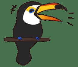 Kakegawa Kachouen birds feelings sticker #12193487
