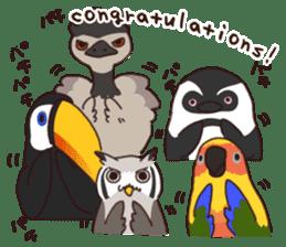 Kakegawa Kachouen birds feelings sticker #12193494