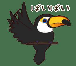 Kakegawa Kachouen birds feelings sticker #12193512