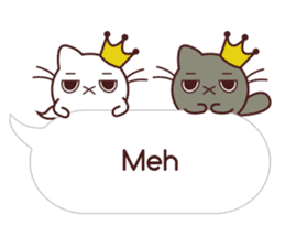 Fab Cat in Sassy Balloons sticker #12196424