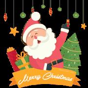 สติ๊กเกอร์ไลน์ Happy Holidays Music Stickers