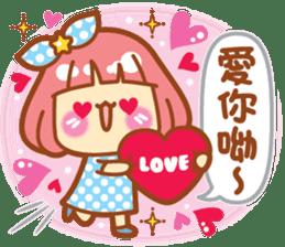 Lin Lin Chan & Machi Rabbit 2 sticker #12206759
