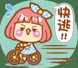 Lin Lin Chan & Machi Rabbit 2 sticker #12206762