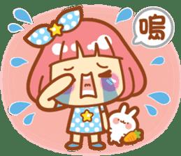 Lin Lin Chan & Machi Rabbit 2 sticker #12206763