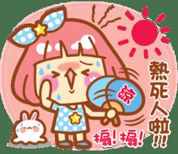 Lin Lin Chan & Machi Rabbit 2 sticker #12206767