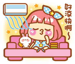 Lin Lin Chan & Machi Rabbit 2 sticker #12206768