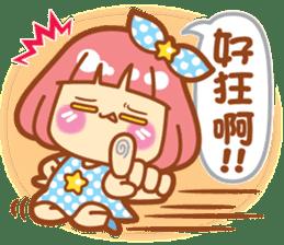 Lin Lin Chan & Machi Rabbit 2 sticker #12206773
