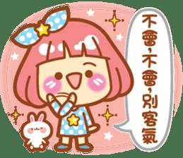 Lin Lin Chan & Machi Rabbit 2 sticker #12206782