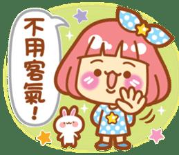 Lin Lin Chan & Machi Rabbit 2 sticker #12206786