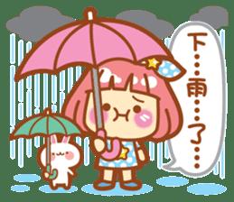 Lin Lin Chan & Machi Rabbit 2 sticker #12206787