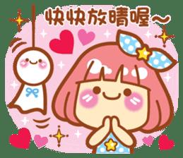 Lin Lin Chan & Machi Rabbit 2 sticker #12206788