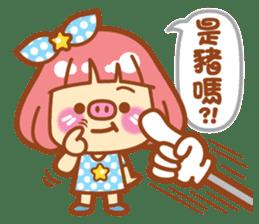 Lin Lin Chan & Machi Rabbit 2 sticker #12206792