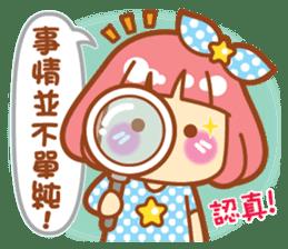 Lin Lin Chan & Machi Rabbit 2 sticker #12206793