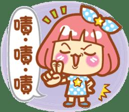 Lin Lin Chan & Machi Rabbit 2 sticker #12206796
