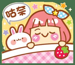 Lin Lin Chan & Machi Rabbit 2 sticker #12206797