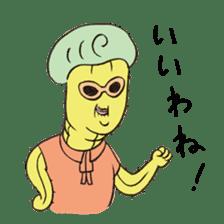 Grandma Cactus sticker #12210188
