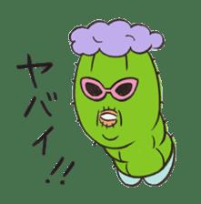 Grandma Cactus sticker #12210190