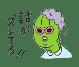 Grandma Cactus sticker #12210194