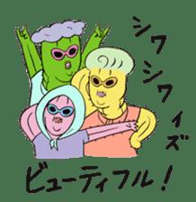 Grandma Cactus sticker #12210205