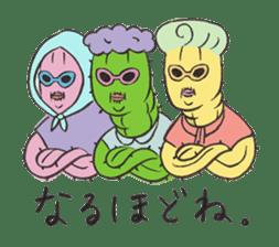 Grandma Cactus sticker #12210206