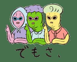 Grandma Cactus sticker #12210207