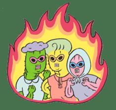 Grandma Cactus sticker #12210213