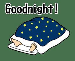 A cute Sumo wrestler animation English sticker #12211860