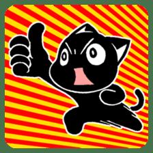 mew mew blacky 4 sticker #12212640