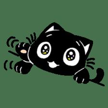 mew mew blacky 4 sticker #12212645