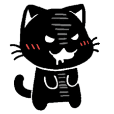 mew mew blacky 4 sticker #12212652