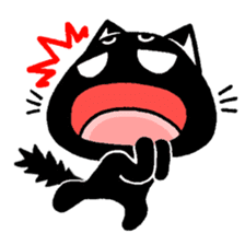mew mew blacky 4 sticker #12212656