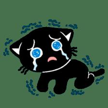 mew mew blacky 4 sticker #12212669