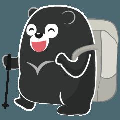 The Taiwan Bear Love Mountain Hiking