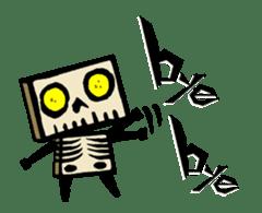 <J-Stickers>Animated TTG monsters! (E) sticker #12222620